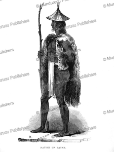 Native of Batan, Borneo, Frank S. Marryat, 18481 | Photos and Images | Travel