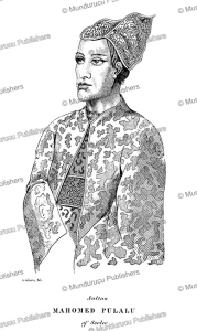 Sultan Mahomed Pulalu of Sooloo (Sulu), Borneo, A. Adams, 18481 | Photos and Images | Travel