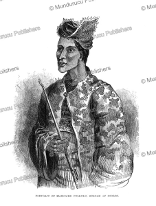 Sultan Mahomed Pullulu of Sooloo (Sulu), Borneo, Frank S. Marryat, 18481 | Photos and Images | Travel