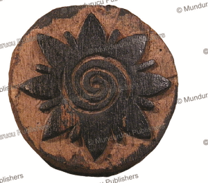 Iban woodblock of a Bunga Terong design, Borneo | Photos and Images | Travel