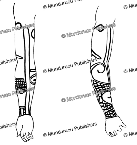 Peng (Pnihing) arm pattern for men, Borneo, Charles Hose, 1912   Photos and Images   Travel