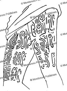 Longwai thigh tattoo design, Borneo | Photos and Images | Travel