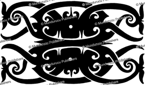 borneo tattoo pattern, borneo, sharon thomas, 1968
