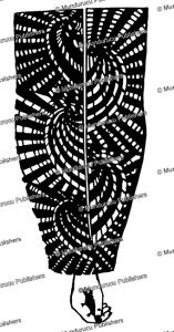 kahayan arm design for men, borneo, charles hose, 1912