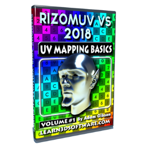 rizomuv vs- volume #1- uv mapping basics (download version)