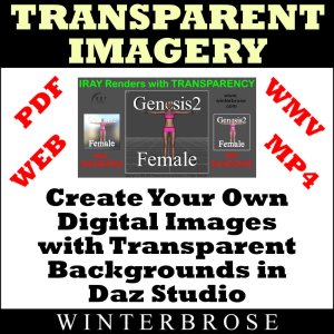 create images with transparency using ds iray render