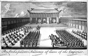 The Ambassadors audience of leave of the Emperor, Evert Ysbrants Ides, China, 1706 | Photos and Images | Travel