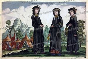 Tartar women, China, Jan Nieuwhof, 1644 | Photos and Images | Travel