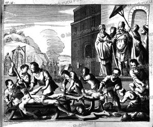 Brutal executions by the tiran Chang Hsien-chung (1606-1647), Juan Gonza´lez de Mendoza, China, 1656 | Photos and Images | Travel