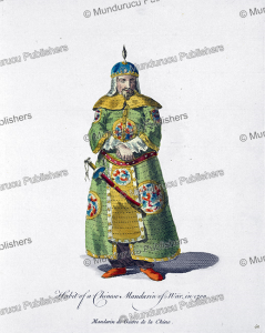 Habit of a Chinese mandarin of war in 1700, Jean Baptiste du Halde, c. 1760 | Photos and Images | Travel