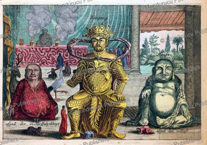 Chinese gods of immortality, Kingang and the god of voluptuousness (Ninifo), Jan Nieuwhof, 1644 | Photos and Images | Travel