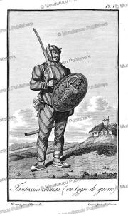chinese infantryman, alexandre, 1830