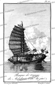The boat of Van-ta-jin, a Chinese mandarin, Alexandre, 1830 | Photos and Images | Travel