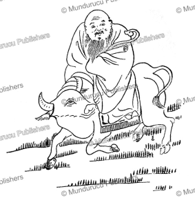 the philosopher laocius (604 bc), founder of taoism, china, c.a.s. williams, 1931