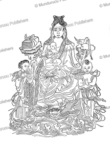 The goddess Kuan Yin, protector of children, China, C.A.S. Williams, 1931 | Photos and Images | Travel