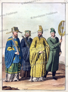 Chinese emperor and noble men, G. Bigatti, 1827 | Photos and Images | Travel