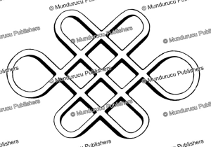 chinese endless knot, a symbol of long life