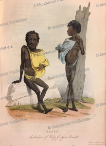 australians of king george's sound, f. bull, 1855