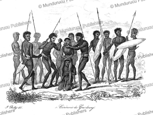Ceremony of removing the teeth, New Holland (Australia), Jules Boilly, 1839 | Photos and Images | Travel