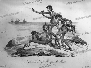 Natives of New Holland (Australia), Mangioni, 1820   Photos and Images   Travel