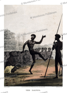 The dance of a native of New Holland (Australia), John Heaviside Clark, 1813 | Photos and Images | Travel