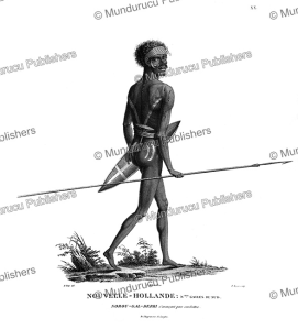 Warrior of New Holland (Australia), Nicolas-Martin Petit, 1830 | Photos and Images | Travel