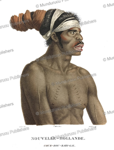 Cour-rou-bari-gal, a native of New Holland (Australia), Nicolas-Martin Petit, 1803 | Photos and Images | Travel