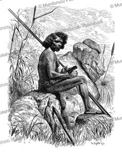 Aboriginal of north Australia, Gustav Mu¨tzel, 1886   Photos and Images   Travel
