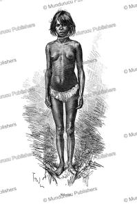 Ke´lanmi, a young aboriginal girl of northeast Australia, Tofani, 1888 | Photos and Images | Travel