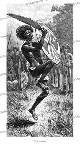 The madman, northeast Australia, Van Muyden, 1888 | Photos and Images | Travel