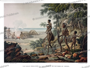 Family of savages, New Holland (Australia), Sebastian Leroy, 1827 | Photos and Images | Travel