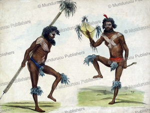 Aboriginals of South Australia dancing, George French Angas, 1846 | Photos and Images | Travel