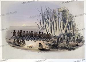 The Palti dance, South Australia, James William Giles, 1847 | Photos and Images | Travel