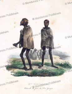 Natives of King George harbour, New Holland (Australia),  Louis Auguste de Sainson, 1835 | Photos and Images | Travel