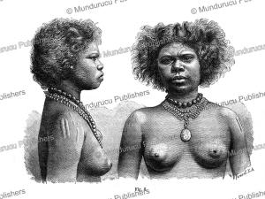A princess of Queensland, Australia, J. Ranke, 1886 | Photos and Images | Travel