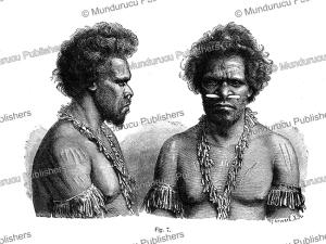 Man of Queensland, Australia, J. Ranke, 1886   Photos and Images   Travel