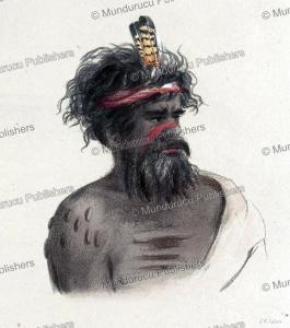 Aboriginal chief, Australia, James William Giles, 1847 | Photos and Images | Travel
