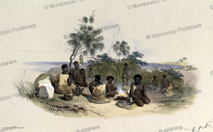Native dwelling of South Australia, James William Giles, 1846 | Photos and Images | Travel