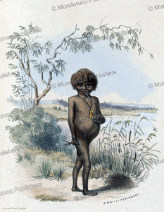 Rimmilli Peringery, an Aboriginal of South Australia, George French Angas, 1846 | Photos and Images | Travel