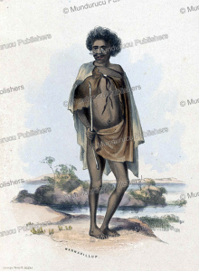 Wannarillup, an Aboriginal of South Australia, George French Angas, 1846 | Photos and Images | Travel