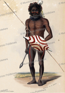 Warrior of Mount Barker, South Australia, George French Angas, 1847 | Photos and Images | Travel