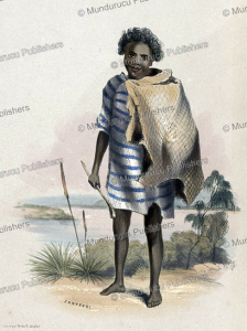 zanyerri, an aboriginal of south australia, george french angas, 1846