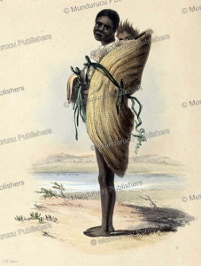 Aborignal woman with child of South Australia, James William Giles, 1847 | Photos and Images | Travel