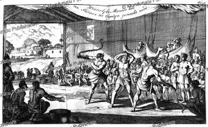 Initiation rite amongst Indians of Guyana, Adriaan van Berkel, 1695 | Photos and Images | Travel