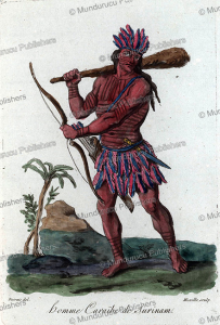 warrior of surinam, jacques grasset de saint-sauveur, 1788