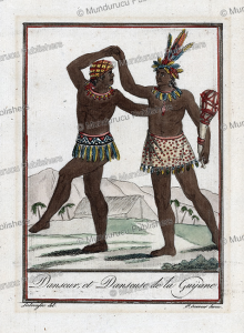 Dancers of Guiana, Labrousse, 1792 | Photos and Images | Travel