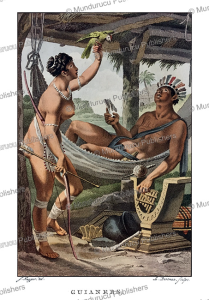 indians from guiana, surinam, jacques kuyper, 1802