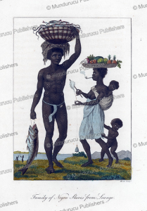 Family of Negro Slaves from Loango, Surinam, William Blake, 1796 | Photos and Images | Travel