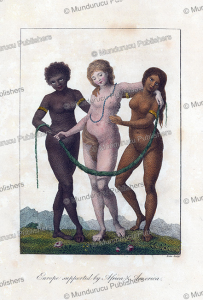 Three women representing Africa, Europe and America, William Blake, 1792 | Photos and Images | Travel