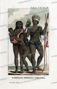 Indian family of Surinam, Dall'Acqua, 1818   Photos and Images   Travel